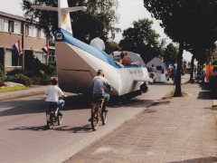 Feestwagen KLM