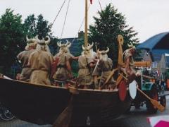 feestwagens vikingschip