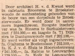 .158 bouw Dorpsh. aanbest. 1972