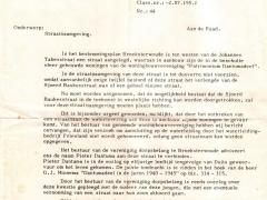 Br.woude 1977 straatnaamgeving