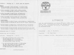 lithurgie 100 jaar cbs 1
