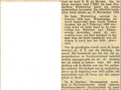 16 nov. 1954 ols 100 jaar