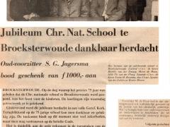Br.woude    1974    Br.woude Chr. Nat. school 75 jr    01    3 mei