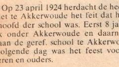 Br.woude en Akk.woude    1924    C. van Vliet 25 jr schoolhoofd Geref.     23 april