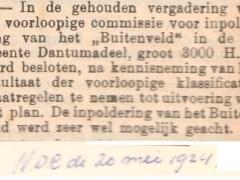 Br.woude inpold. Buitenveld 1924