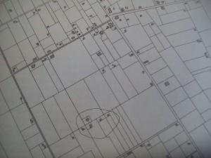 kadastrale kaart 1874